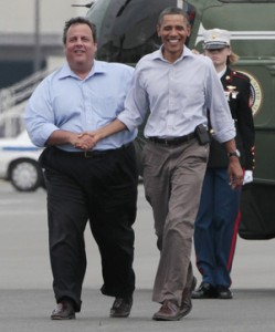 President Obama and New Jersey Gov. Chris Christie meet to tour damage from another storm, Hurricane Irene (npr.org)